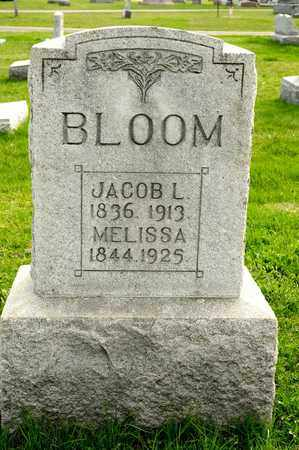 BLOOM, JACOB L - Richland County, Ohio | JACOB L BLOOM - Ohio Gravestone Photos