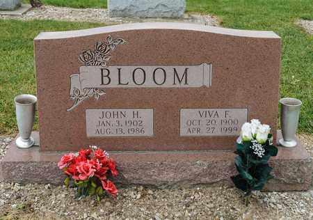 BLOOM, JOHN H - Richland County, Ohio | JOHN H BLOOM - Ohio Gravestone Photos