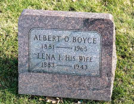 BOYCE, ALBERT O - Richland County, Ohio | ALBERT O BOYCE - Ohio Gravestone Photos