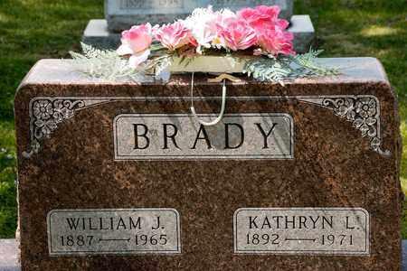 BRADY, WILLIAM J - Richland County, Ohio | WILLIAM J BRADY - Ohio Gravestone Photos
