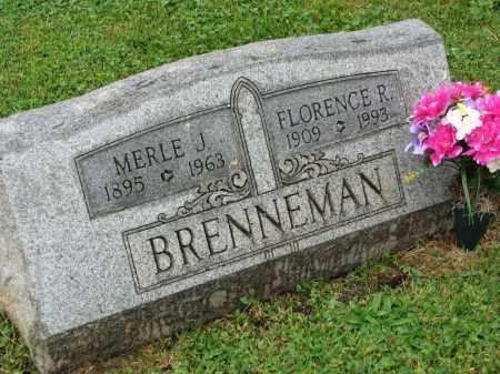 BRENNEMAN, MERLE J. - Richland County, Ohio | MERLE J. BRENNEMAN - Ohio Gravestone Photos