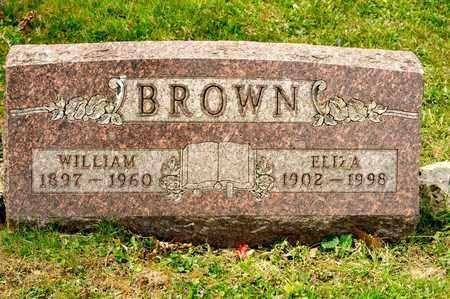 BROWN, WILLIAM - Richland County, Ohio   WILLIAM BROWN - Ohio Gravestone Photos