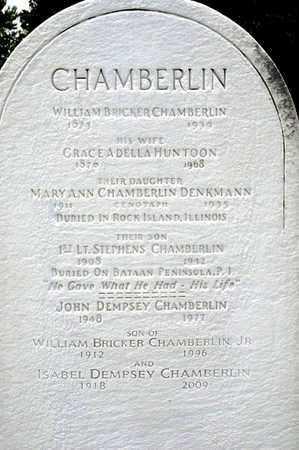 CHAMBERLIN, WILLIAM BRICKER - Richland County, Ohio | WILLIAM BRICKER CHAMBERLIN - Ohio Gravestone Photos