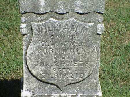 CORNWALL, WILLIAM W. - Richland County, Ohio | WILLIAM W. CORNWALL - Ohio Gravestone Photos