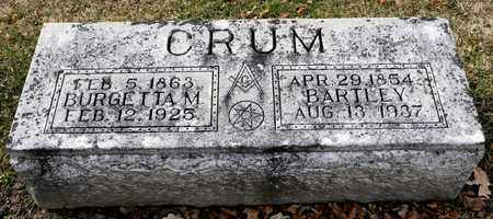 CRUM, BURGETTA M - Richland County, Ohio | BURGETTA M CRUM - Ohio Gravestone Photos