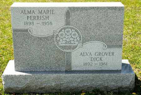 DICK, ALMA MARIE - Richland County, Ohio | ALMA MARIE DICK - Ohio Gravestone Photos