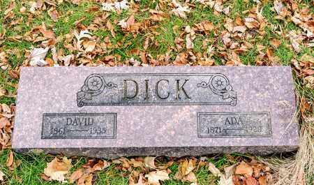 DICK, ADA - Richland County, Ohio   ADA DICK - Ohio Gravestone Photos