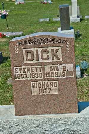 DICK, EVERETT - Richland County, Ohio | EVERETT DICK - Ohio Gravestone Photos