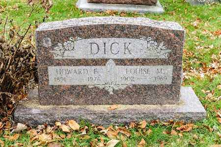 DICK, LOUISE M - Richland County, Ohio | LOUISE M DICK - Ohio Gravestone Photos