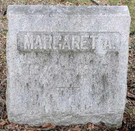 DICK, MARGARET A - Richland County, Ohio | MARGARET A DICK - Ohio Gravestone Photos