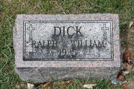 DICK, RALPH - Richland County, Ohio | RALPH DICK - Ohio Gravestone Photos
