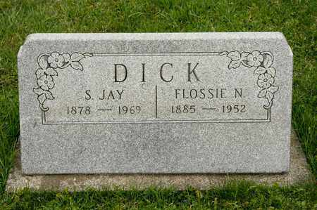 DICK, FLOSSIE N - Richland County, Ohio | FLOSSIE N DICK - Ohio Gravestone Photos