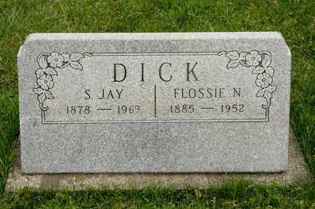 DICK, S JAY - Richland County, Ohio | S JAY DICK - Ohio Gravestone Photos