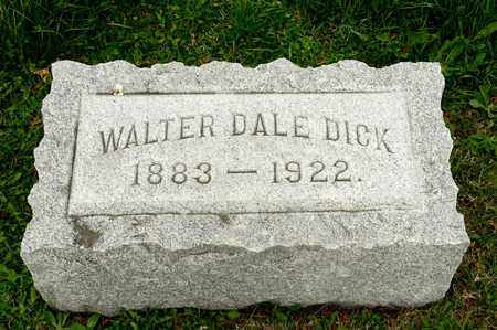 DICK, WALTER DALE - Richland County, Ohio | WALTER DALE DICK - Ohio Gravestone Photos