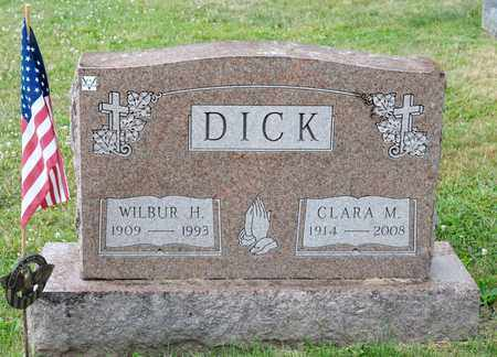 DICK, CLARA M - Richland County, Ohio | CLARA M DICK - Ohio Gravestone Photos