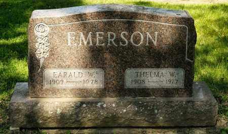 EMERSON, THELMA W - Richland County, Ohio | THELMA W EMERSON - Ohio Gravestone Photos