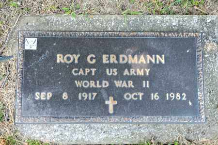 ERDMANN, ROY G - Richland County, Ohio | ROY G ERDMANN - Ohio Gravestone Photos