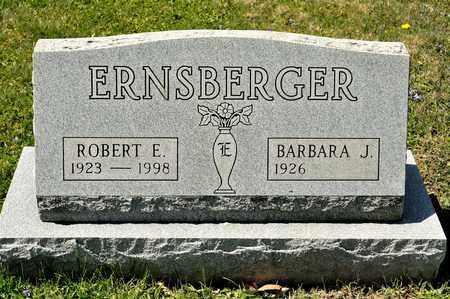 ERNSBERGER, ROBERT E - Richland County, Ohio   ROBERT E ERNSBERGER - Ohio Gravestone Photos