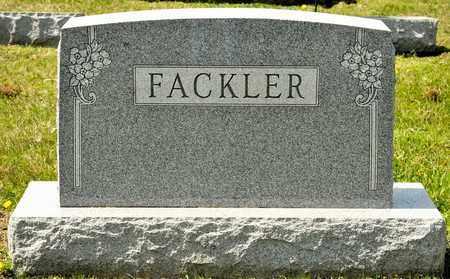 BAKER FACKLER, MARABELLE - Richland County, Ohio   MARABELLE BAKER FACKLER - Ohio Gravestone Photos