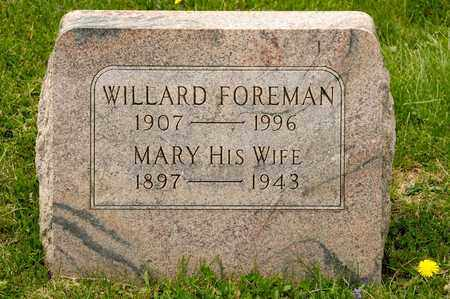 FOREMAN, MARY - Richland County, Ohio   MARY FOREMAN - Ohio Gravestone Photos