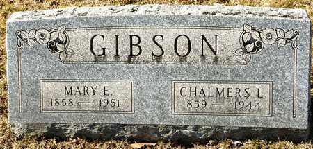 GIBSON, CHALMERS L - Richland County, Ohio | CHALMERS L GIBSON - Ohio Gravestone Photos