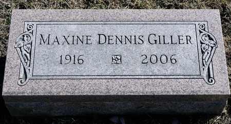 DENNIS GILLER, MAXINE - Richland County, Ohio | MAXINE DENNIS GILLER - Ohio Gravestone Photos