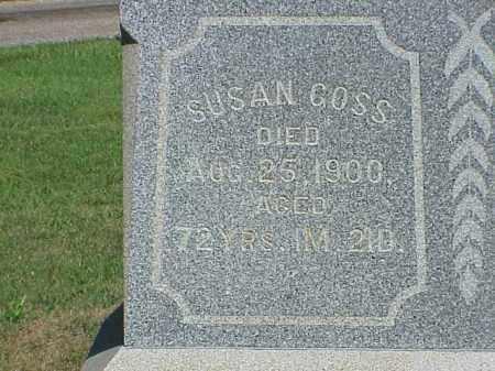 GOSS, SUSAN - Richland County, Ohio | SUSAN GOSS - Ohio Gravestone Photos