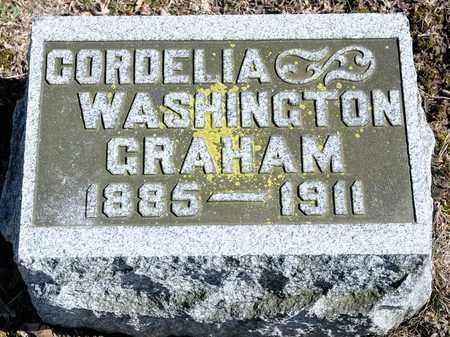 GRAHAM, CORDELIA - Richland County, Ohio | CORDELIA GRAHAM - Ohio Gravestone Photos
