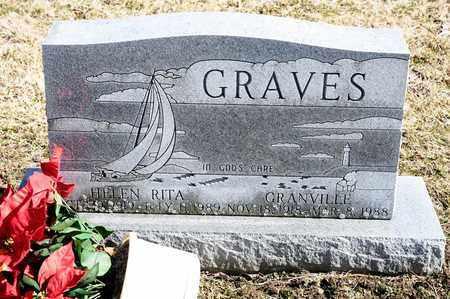 GRAVES, HELEN RITA - Richland County, Ohio | HELEN RITA GRAVES - Ohio Gravestone Photos