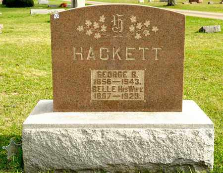 HACKETT, BELLE - Richland County, Ohio | BELLE HACKETT - Ohio Gravestone Photos