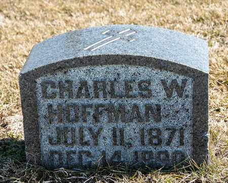 HOFFMAN, CHARLES W - Richland County, Ohio | CHARLES W HOFFMAN - Ohio Gravestone Photos
