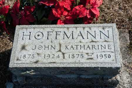 HOFFMAN, KATHARINE - Richland County, Ohio | KATHARINE HOFFMAN - Ohio Gravestone Photos