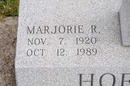 HOFFMAN, MARJORIE R - Richland County, Ohio   MARJORIE R HOFFMAN - Ohio Gravestone Photos