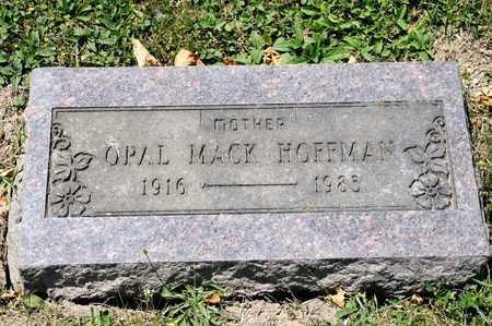 MACK HOFFMAN, OPAL - Richland County, Ohio   OPAL MACK HOFFMAN - Ohio Gravestone Photos