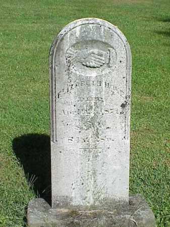 HOKE, ELIZABETH - Richland County, Ohio   ELIZABETH HOKE - Ohio Gravestone Photos
