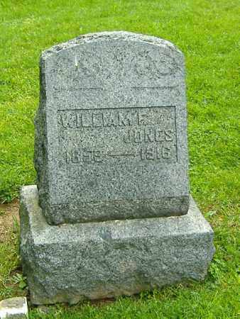JONES, WILLIAM F. - Richland County, Ohio | WILLIAM F. JONES - Ohio Gravestone Photos