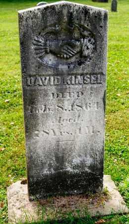 KINSEL, DAVID - Richland County, Ohio   DAVID KINSEL - Ohio Gravestone Photos