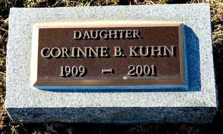 KUHN, CORINNE B - Richland County, Ohio   CORINNE B KUHN - Ohio Gravestone Photos
