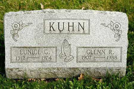 KUHN, GLENN R - Richland County, Ohio   GLENN R KUHN - Ohio Gravestone Photos