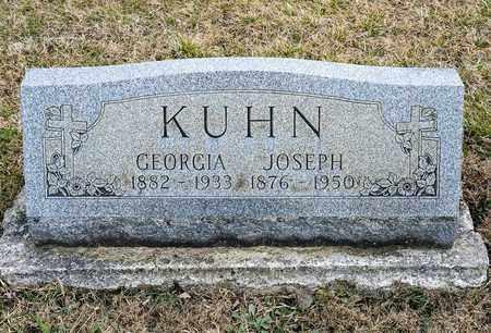 KUHN, GEORGIA - Richland County, Ohio | GEORGIA KUHN - Ohio Gravestone Photos