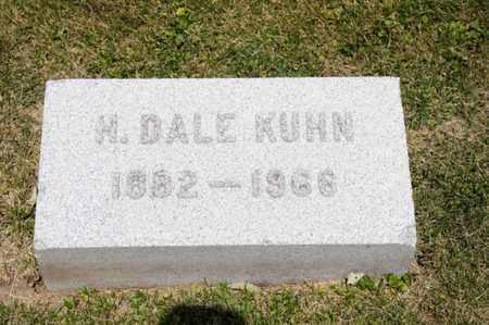 KUHN, H DALE - Richland County, Ohio   H DALE KUHN - Ohio Gravestone Photos