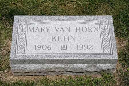 KUHN, MARY - Richland County, Ohio | MARY KUHN - Ohio Gravestone Photos