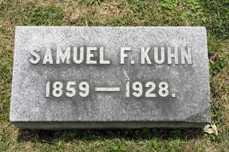 KUHN, SAMUEL F - Richland County, Ohio   SAMUEL F KUHN - Ohio Gravestone Photos