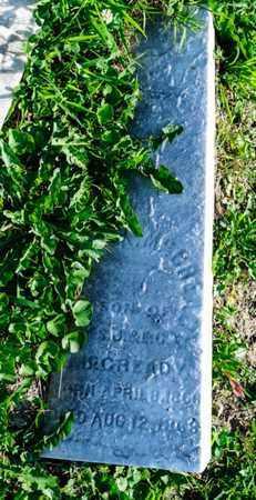 MCCREADY, ERNEST A - Richland County, Ohio | ERNEST A MCCREADY - Ohio Gravestone Photos