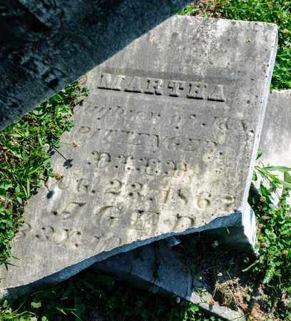PITTENGER, MARTHA - Richland County, Ohio   MARTHA PITTENGER - Ohio Gravestone Photos