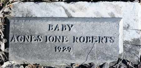 ROBERTS, AGNES JONE - Richland County, Ohio | AGNES JONE ROBERTS - Ohio Gravestone Photos