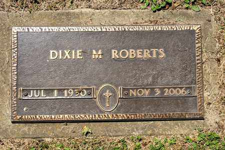 ROBERTS, DIXIE M - Richland County, Ohio | DIXIE M ROBERTS - Ohio Gravestone Photos