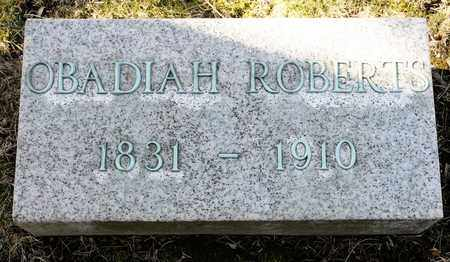 ROBERTS, OBADIAH - Richland County, Ohio | OBADIAH ROBERTS - Ohio Gravestone Photos