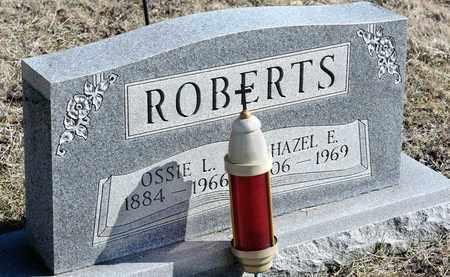 ROBERTS, OSSIE L - Richland County, Ohio | OSSIE L ROBERTS - Ohio Gravestone Photos