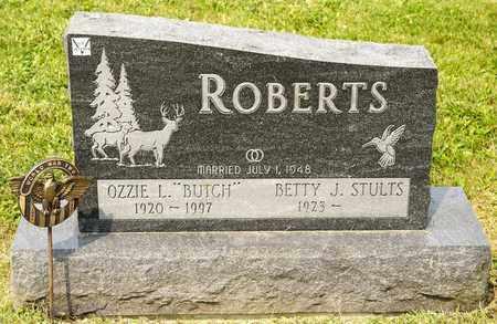 ROBERTS, OZZIE L - Richland County, Ohio   OZZIE L ROBERTS - Ohio Gravestone Photos